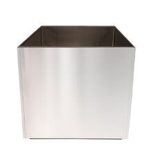 Stainless Steel Square Planter
