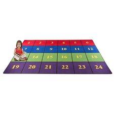 Classroom Seating Squares Kids Rug