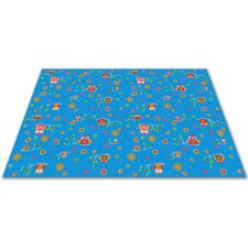 <strong>KidCarpet.com</strong> Counting Owls with ABCs Kids Rug
