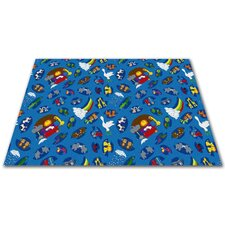 <strong>KidCarpet.com</strong> Noah's Animal Friends Kids Rug
