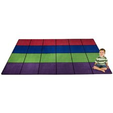 <strong>KidCarpet.com</strong> Blocks Seating Kids Rug