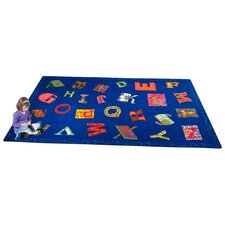 <strong>KidCarpet.com</strong> Patchwork ABC Kids Rug