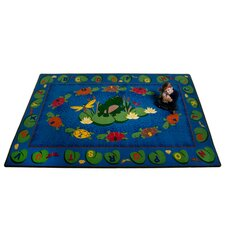 <strong>KidCarpet.com</strong> Turtle Circle Time Kids Rug