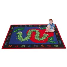 <strong>KidCarpet.com</strong> Learn with Inchworm Kids Rug