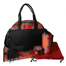 <strong>House of Botori</strong> Bolu Bowler Overnight Diaper Bag