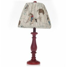 "12"" Happy Trails Table Lamp with Drum Shade"