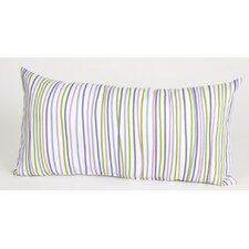 LuLu Rectangular Pillow with Stripes