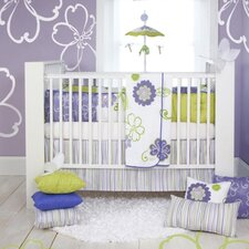 <strong>Sweet Potato by Glenna Jean</strong> LuLu 4 Piece Crib Bedding Set