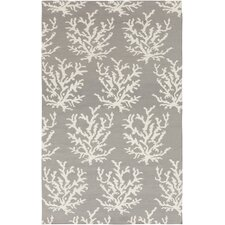 <strong>Somerset Bay</strong> Boardwalk Light Gray/White Rug