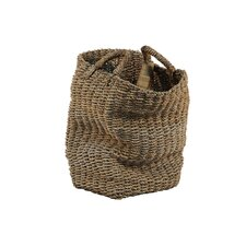 Water Hyacinth Basket with Handle