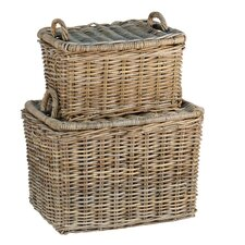 <strong>Ibolili</strong> French Picnic Basket (Set of 2)