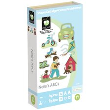 Cricut Nate's ABC Cartridge