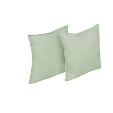 Polyester Microfiber Water and Stain Resistant Decorative Pillow, 2 Pack (Set of 2)
