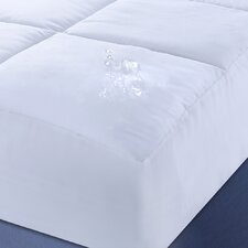 Polyester Microfiber Down Alternative Water and Stain Resistant Mattress Pad