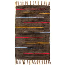 Canyon Cocoa Stripe Rug