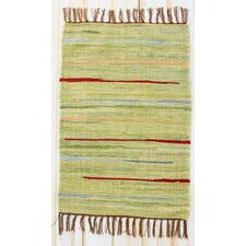 Canyon Green Stripe Rug