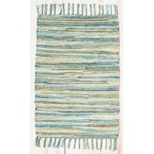 Velvet Aqua/Turquoise Rug