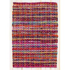 Cross Grain Multi Magenta Rug