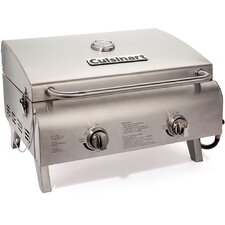 "18.3"" Chef's Style Tabletop Gas Grill"