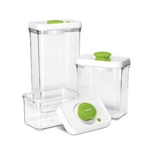FreshEdge Vacuum-Seal 6-Piece Food Storage Container Set