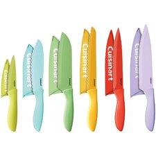 12 Piece Advantage Coated Knife Set