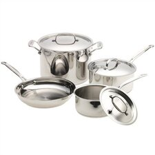 Chef's Classic™ Stainless 7-Piece Cookware Set