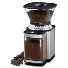 Automatic Burr Coffee Grinder in Brushed Stainless