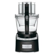 Elite 12-Cup Food Processor in Black