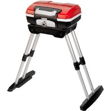 Petit Gourmet Portable LP Gas Outdoor Grill with Versa Stand