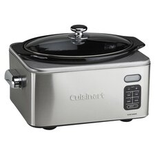 <strong>Cuisinart</strong> 6.5 Qt. Slow Cooker in Brushed Stainless
