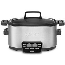 <strong>Cuisinart</strong> Cook Central 3-in-1 Multi-Cooker, Slow Cooker, Steamer