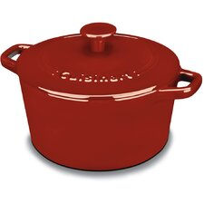 Chef's Classic Enamel on Steel Cast Iron Round Casserole