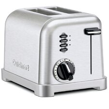 2-Slice Metal Classic Toaster