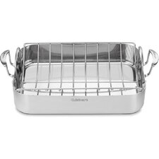 <strong>Cuisinart</strong> MultiClad Pro Triple-Ply Stainless Steel Roasting Pan