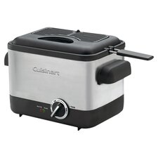 <strong>Cuisinart</strong> Cool Touch 1.1 Liter Compact Deep Fryer