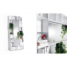 "Belvedere 37.01"" Bookcase with Mirror"