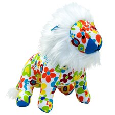 <strong>Allen Ave</strong> Color Zoo Lee the Lion Stuffed Toy