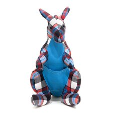 Color Zoo Kacy the Kangaroo Stuffed Toy