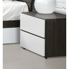 <strong>Nexera</strong> Allure 2 Drawer Nightstand