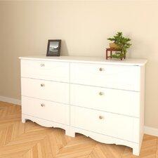 Dixie Double 6-Drawer Dresser