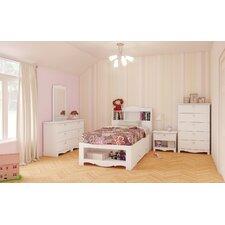 Nexera Dixie Storage Bed and Optional Nightstand