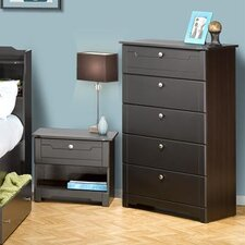 Dixon 5 Drawer Chest in Espresso