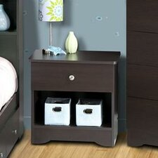 <strong>Nexera</strong> Pocono 1 Drawer Nightstand