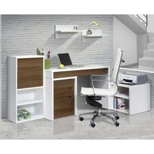 <strong>Nexera</strong> Liber-T Standard Desk Office Suite