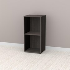 "<strong>Nexera</strong> Allure 36"" Storage Cabinet in Ebony"