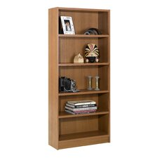"Essentials 71.5"" X 31"" Tall Bookcase in Cappuccino"