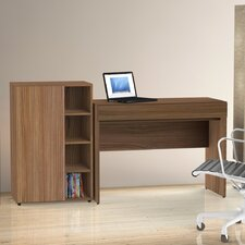 Alizee Desk in Walnut