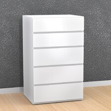 <strong>Nexera</strong> BLVD 5 Drawer Chest