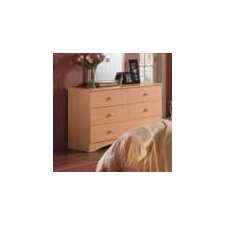 Alegria Double 6 Drawer Dresser