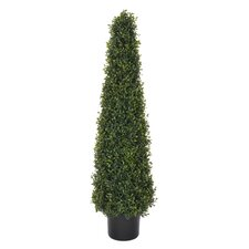 Artificial Boxwood Pyramid Topiary